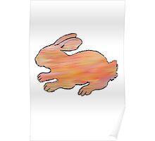 Cosmic Rabbit Poster