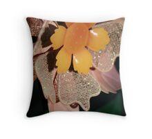 Garden Detail Throw Pillow