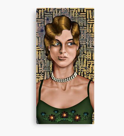 Movie Maiden Canvas Print