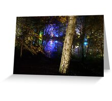 The enchanted forrest-4 Greeting Card
