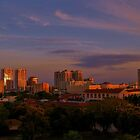 COLORS OF DUSK IN THE CITY by FL-florida