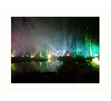 The enchanted forrest-5 Art Print