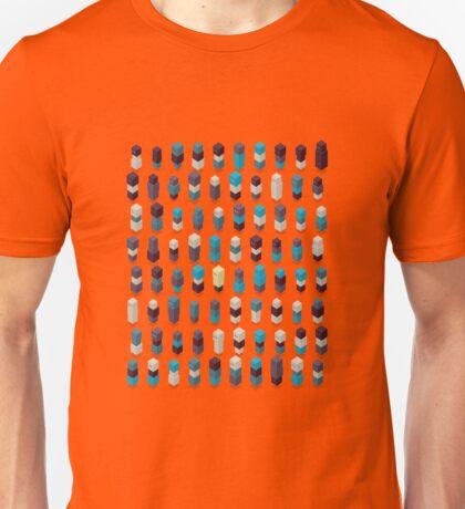 Robotz - Sapphire Rose Unisex T-Shirt