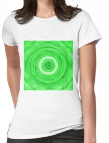 Abstract / Psychedelic / Geometric Artwork Womens Fitted T-Shirt