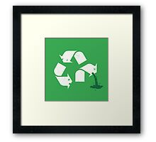 Green Sickness Framed Print