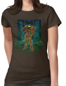 Metroid Womens Fitted T-Shirt