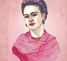Frida Kahlo by barruf