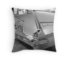 '57 Chrome Throw Pillow