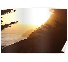 Sutro Heights Sunset Poster