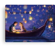 Disneys Tangled Canvas Print