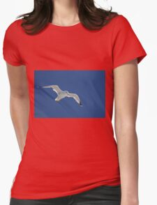 In Flight Womens Fitted T-Shirt