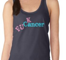 Fuck Cancer Women's Tank Top