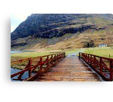 Glencoe, Scotland Canvas Print