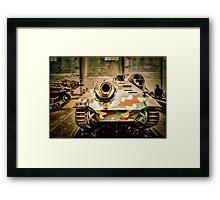 Tank Killer Framed Print