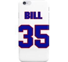 National baseball player Bill White jersey 35 iPhone Case/Skin