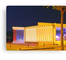 LIGHT on Modern Architecture Canvas Print