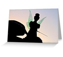 Tink Silhouette Greeting Card