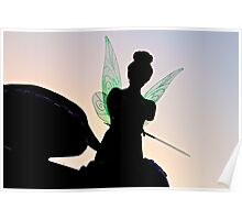Tink Silhouette Poster