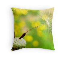 Hold On to Spring Throw Pillow