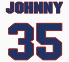 National baseball player Johnny Hopp jersey 35 by imsport
