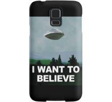 Flight of the X Files Samsung Galaxy Case/Skin