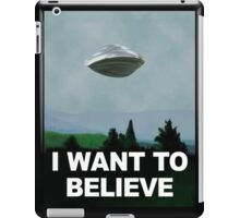 Flight of the X Files iPad Case/Skin
