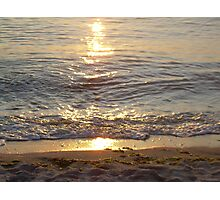 Water reflection Photographic Print