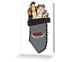 PIXEL People; Pocket Greeting Card