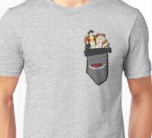 PIXEL People; Pocket Unisex T-Shirt