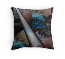 Discolored Prism Throw Pillow