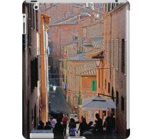 Sun & Silhouettes In Montepulciano iPad Case/Skin