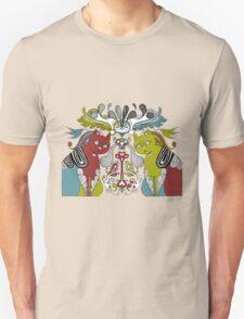 CAT collage style illustration T-Shirt