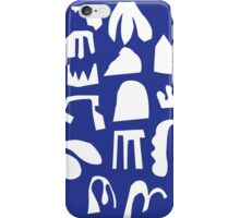 Practice Array - blue iPhone Case/Skin