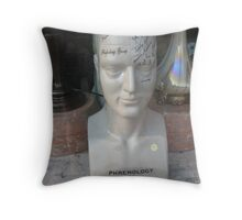 shopwindow phrenology Throw Pillow