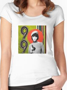 Agent 99 Women's Fitted Scoop T-Shirt