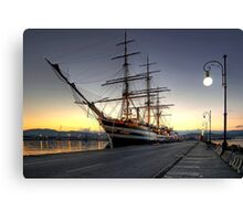 Sailing Ship in the Dawn   Canvas Print
