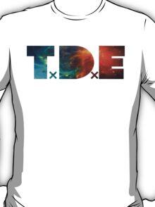 TDE Orange and Blue Nebula T-Shirt