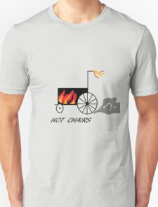Hot chairs Flames Unisex T-Shirt