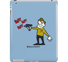 set phasers to gangsta  iPad Case/Skin