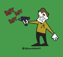 set phasers to gangsta  Kids Clothes