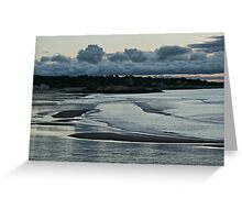 Sunset on Cape Ann Greeting Card