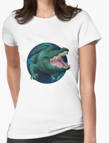Crocodile Womens Fitted T-Shirt