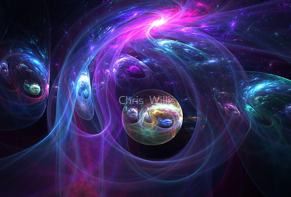 Glassy Worlds by Chris  Willis