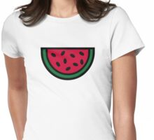 Red Melon Womens Fitted T-Shirt