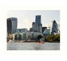 City of London original Art Print