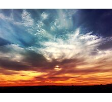 Sea in the Sky Photographic Print
