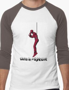 We're in a Tight Spot Men's Baseball ¾ T-Shirt
