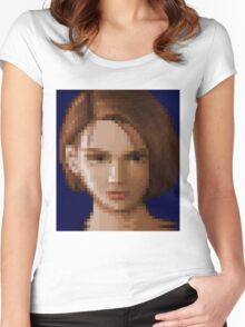 Her Final Escape Women's Fitted Scoop T-Shirt