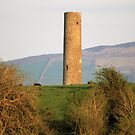 Iniscealtra round tower by John Quinn