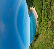 Kinnagoe Bay - iPhone by George Row
